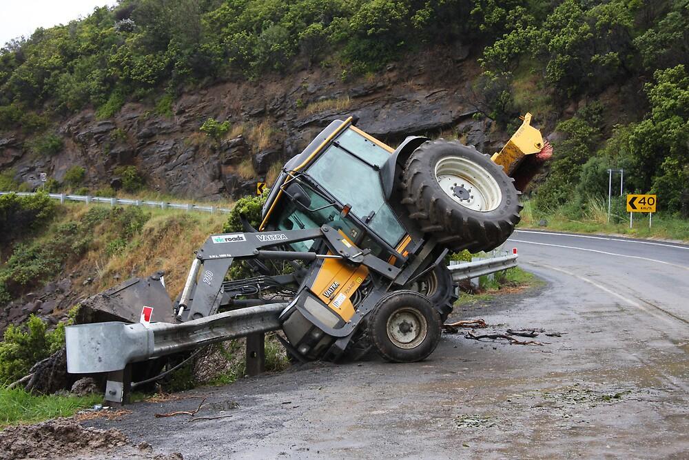 Tractor Mishap by sportzshotz