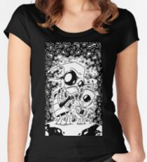 Zim Invader Women's Fitted Scoop T-Shirt