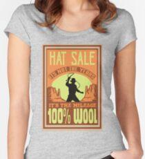 Indiana Jones - Hat Sale Women's Fitted Scoop T-Shirt