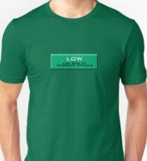 Low (Homeland Security Advisory System chart) Unisex T-Shirt