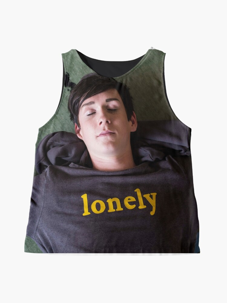 Alternate view of EMO the Musical - Ethan is Lonely Sleeveless Top