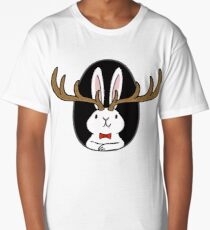Hello Jackalope! Long T-Shirt