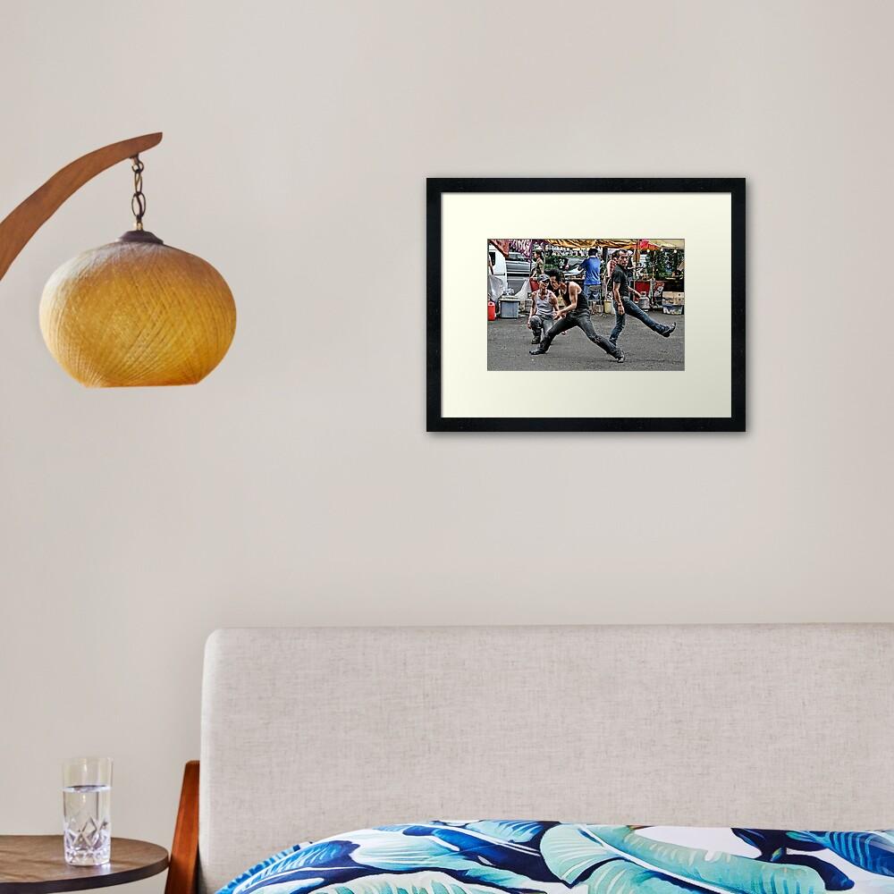 Tokyo Rock and Roll II Framed Art Print