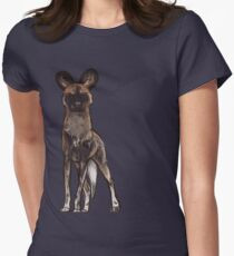 Wild Dog Women's Fitted T-Shirt