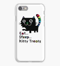 Eat, Sleep, Kitty Treats  iPhone Case/Skin