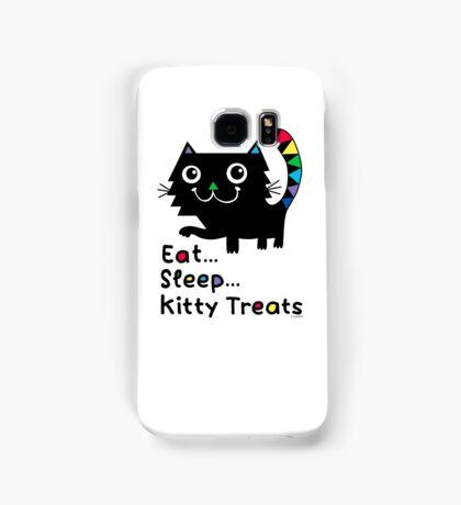 Eat, Sleep, Kitty Treats  Samsung Galaxy Case/Skin