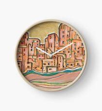 City behind Gold Clock