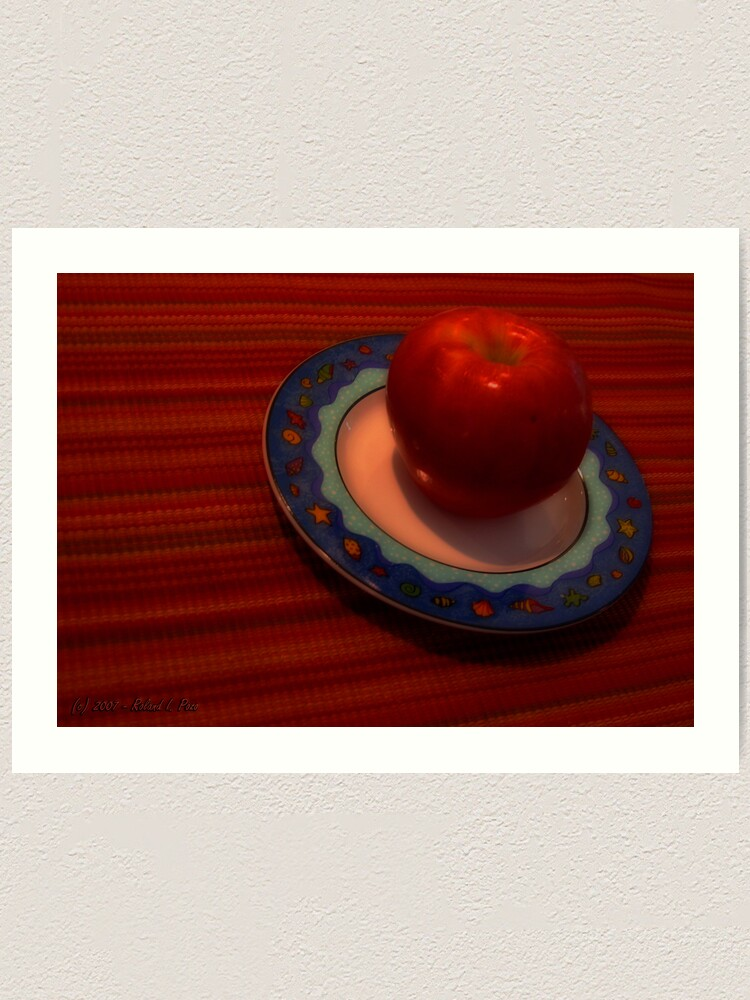 Alternate view of An Apple of Day Art Print