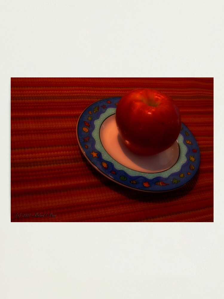 Alternate view of An Apple of Day Photographic Print