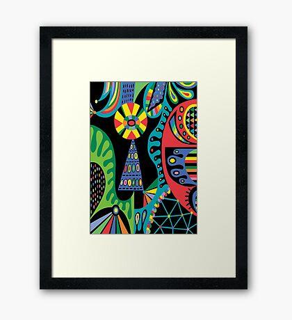 Mojo black Framed Print
