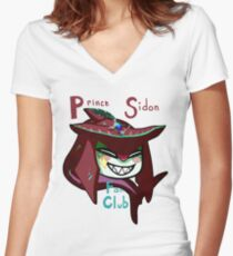 Unofficial Prince Sidon Fan Club Shirt Women's Fitted V-Neck T-Shirt