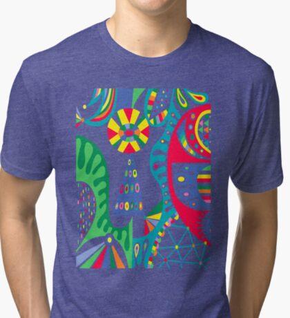 Mojo black Tri-blend T-Shirt