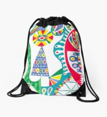 Mojo black Drawstring Bag