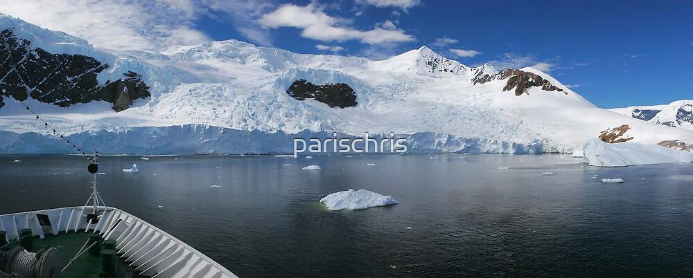 MS Nordkapp entering Andvord Bay, Antarctica by parischris