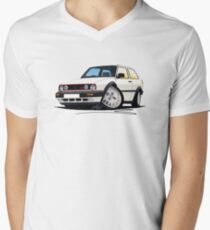 VW Golf GTi (Mk2) White T-Shirt