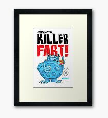 Graphic George Framed Print