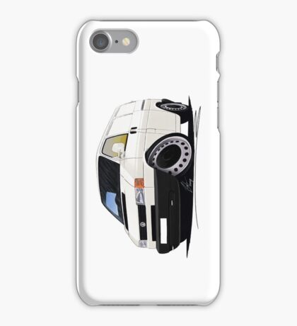Volkswagen T4 Transporter (Bumper) White iPhone Case/Skin