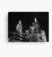 Melbourne @ night Canvas Print