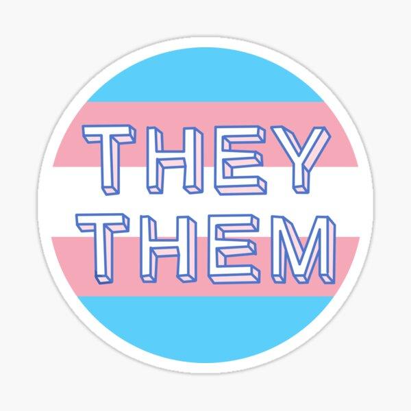 They / Them Sticker