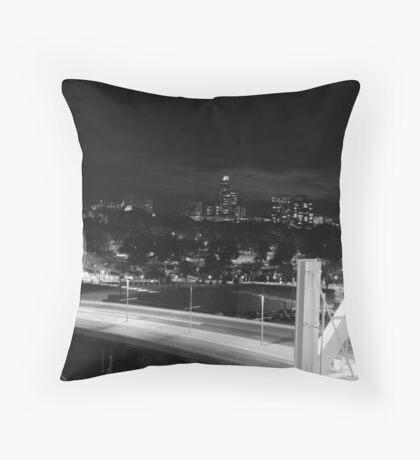 N City Throw Pillow