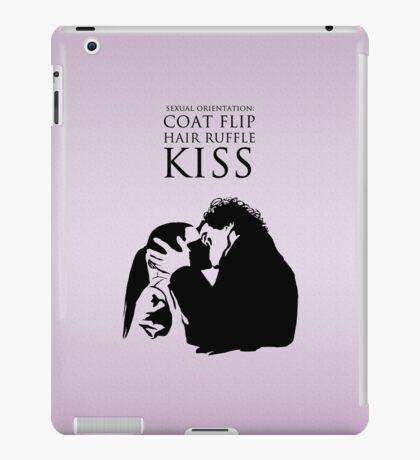 Sherlock and Molly Kiss iPad Case/Skin