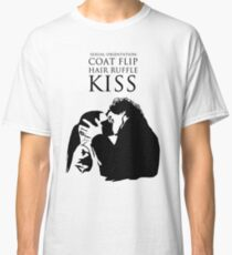 Sherlock and Molly Kiss Classic T-Shirt