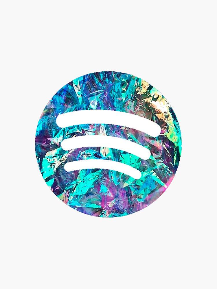 Spotify Logo - Holographisch von jbon165