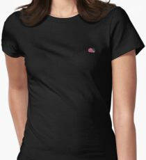 Of Sound Mind Small Logo Womens Fitted T-Shirt
