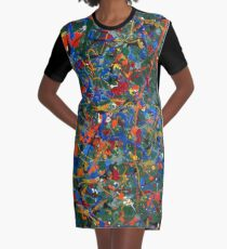 Abstract #17 Graphic T-Shirt Dress