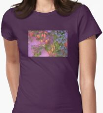 Pastel beauty in a garden wall. T-Shirt