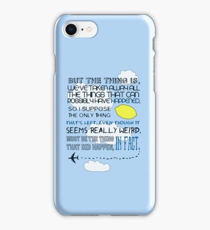 Martin Crieff Quote iPhone Case/Skin