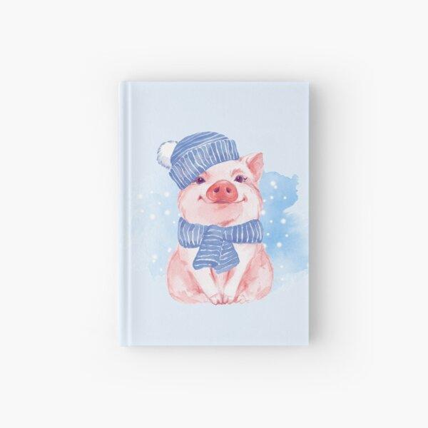 Piglet. Winter Hardcover Journal