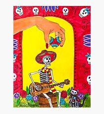 Dia de los Muertos - Song for the Soul Photographic Print