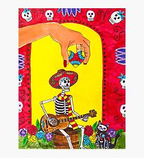 Song for the Soul - Dia de los Muertos (Day of the Dead) Photographic Print