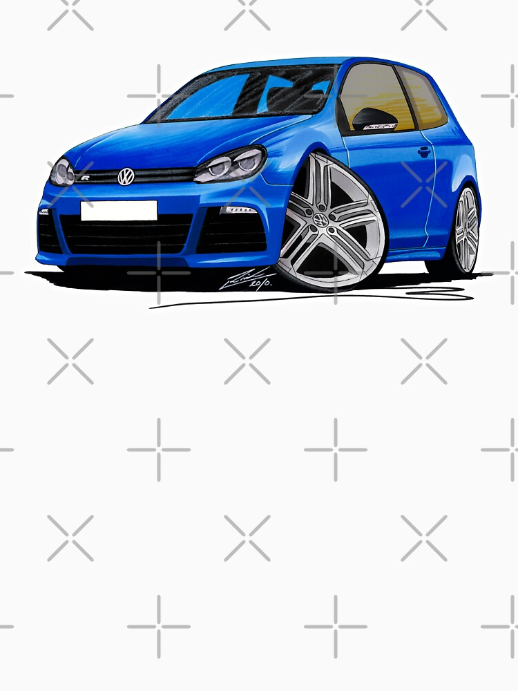 VW Golf R Blue | Unisex T-Shirt