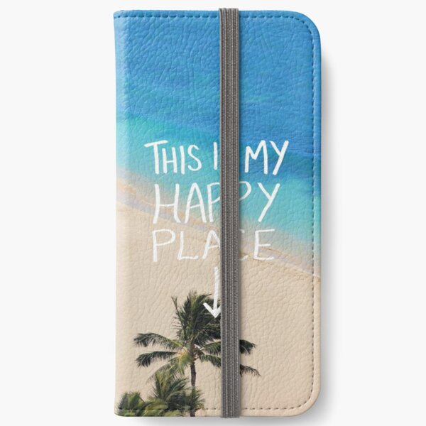 Happy Place - Hawaii iPhone Wallet