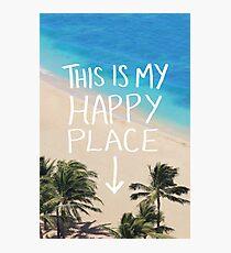 Happy Place Photographic Print