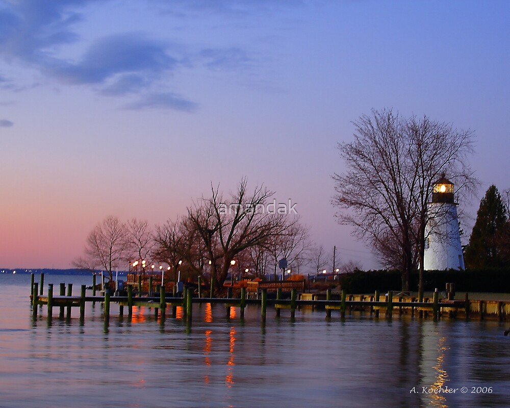 Dawn at Concord Point by amandak