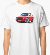 VW Golf GTi (Mk1) Red Classic T-Shirt