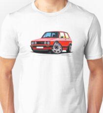 VW Golf GTi (Mk1) Red T-Shirt
