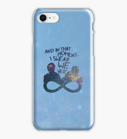 I Swear We Were Infinite II iPhone Case/Skin