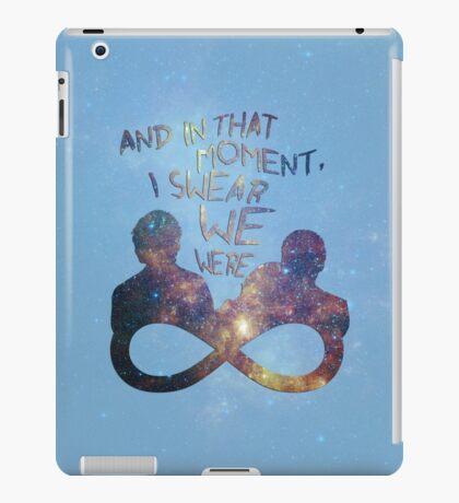 I Swear We Were Infinite II iPad Case/Skin
