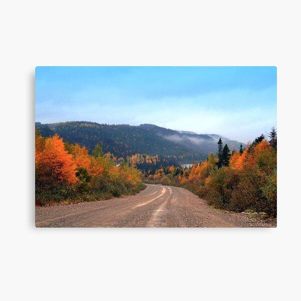 Newfoundland Autumn Canvas Print