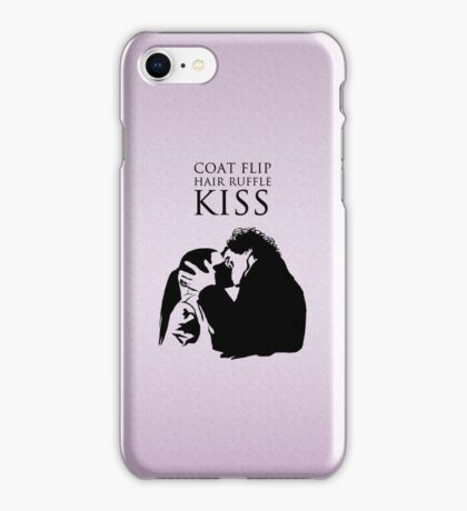 Sherlock and Molly Kiss II iPhone Case/Skin