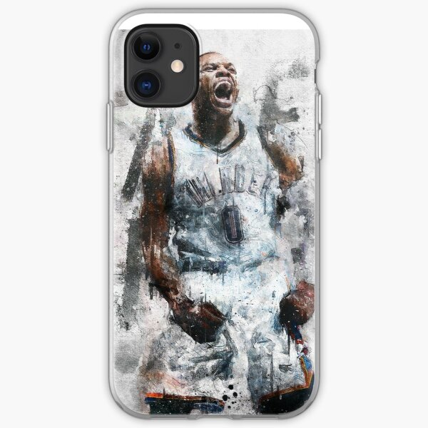 "Russell Westbrook ""Take Flight""  iPhone Soft Case"