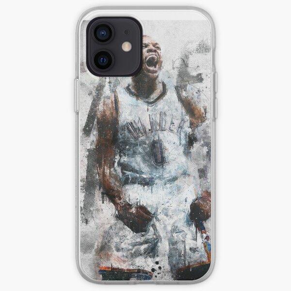 "Russell Westbrook ""Toma vuelo"" Funda blanda para iPhone"