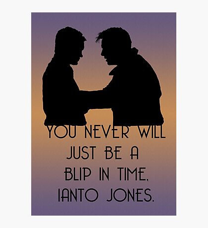 Blip In Time Photographic Print