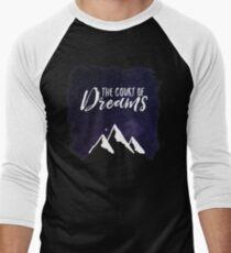 The Court of Dreams - ACOMAF Men's Baseball ¾ T-Shirt