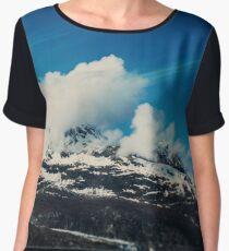 Alaska Mountain Women's Chiffon Top