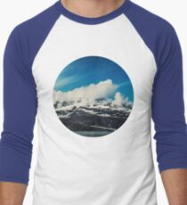 Alaska Mountain Men's Baseball ¾ T-Shirt